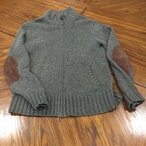 POLO by RALPH LAUREN Patch Sleeve Sweater